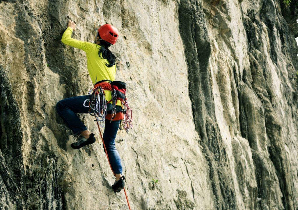 Activités sportive autour de Chanac - Les sports de grimpe