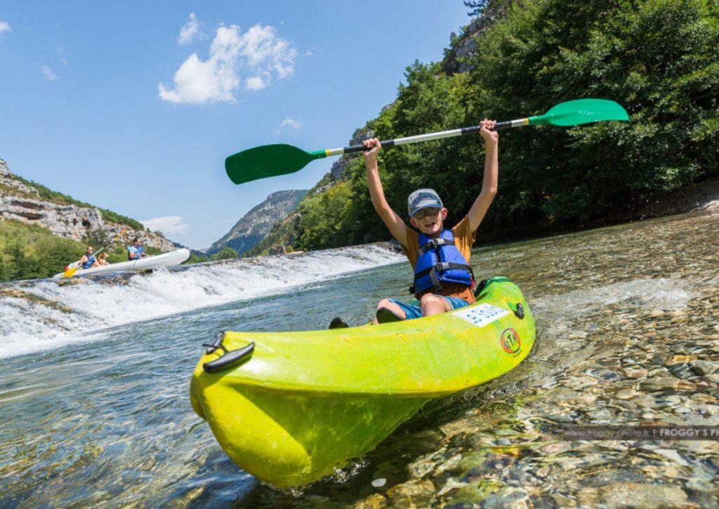 Activités autour de Chanac - Les sports d'eaux vives