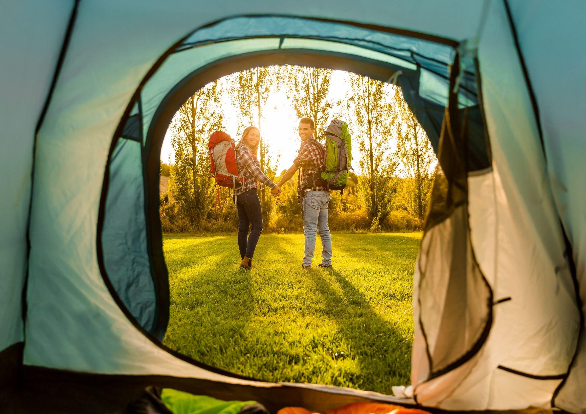 Des emplacements idéaux au camping de Chanac