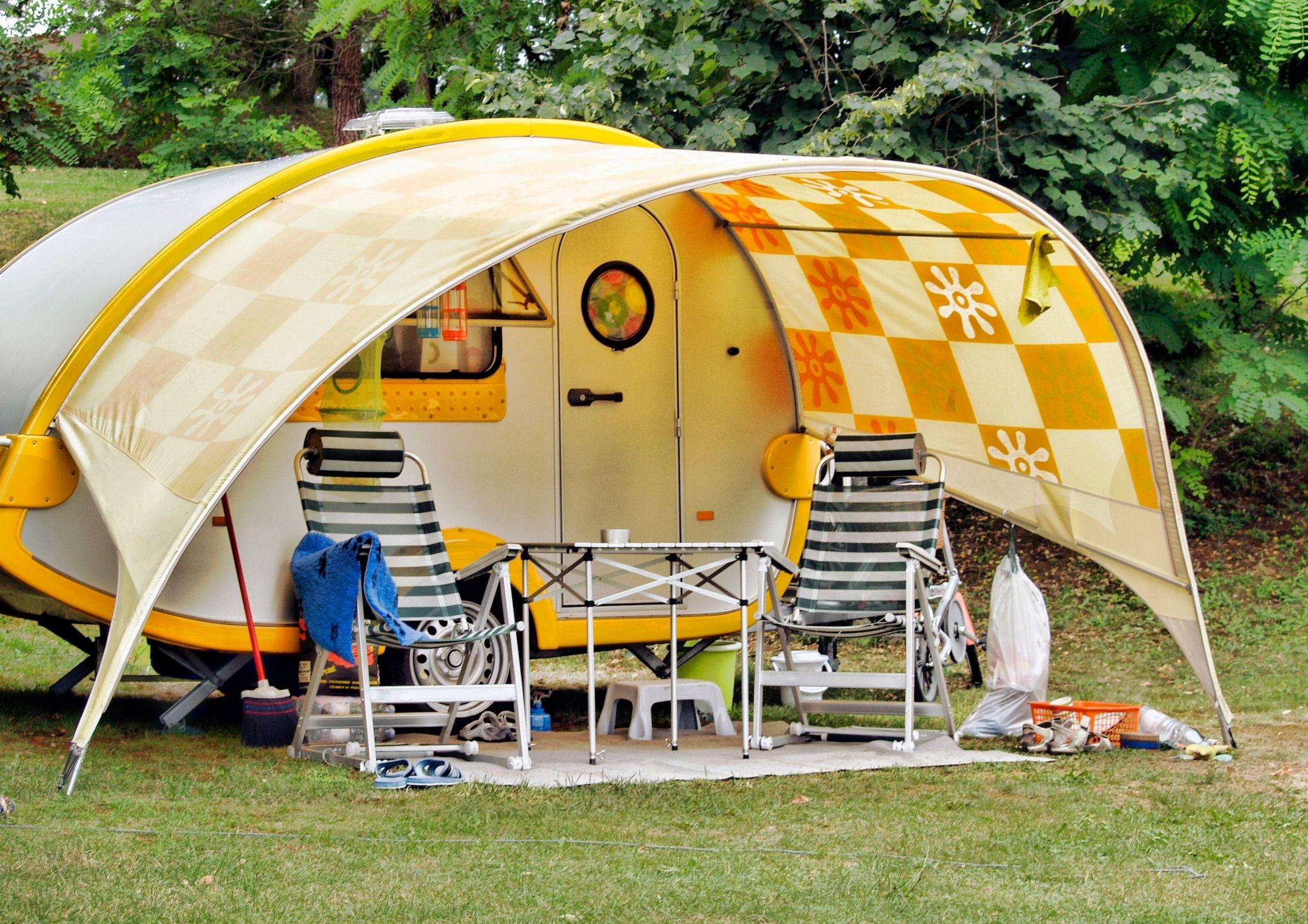 Des emplacements parfait au Camping de Chanac