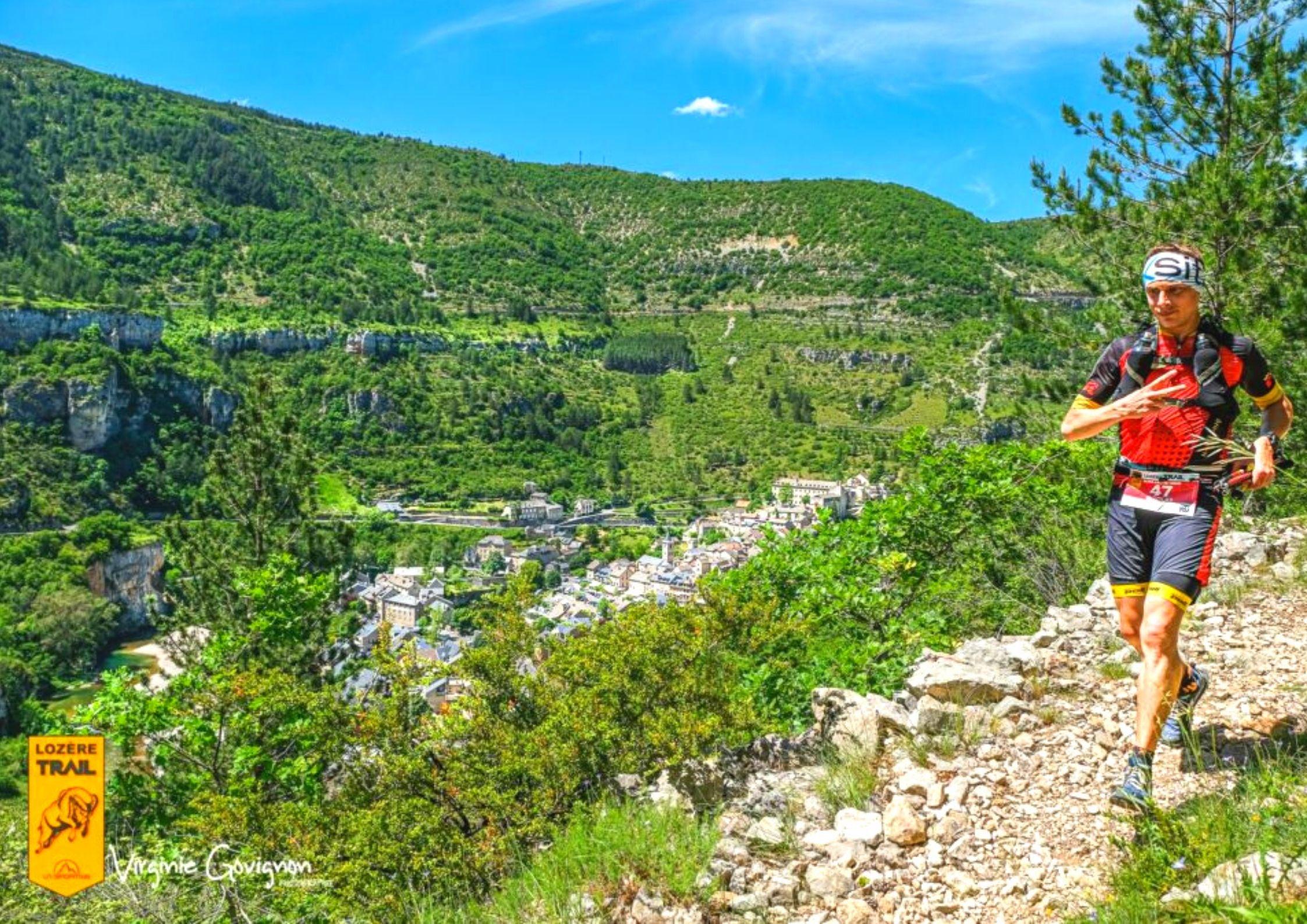 Lozère Trail au départ du camping de Chanac